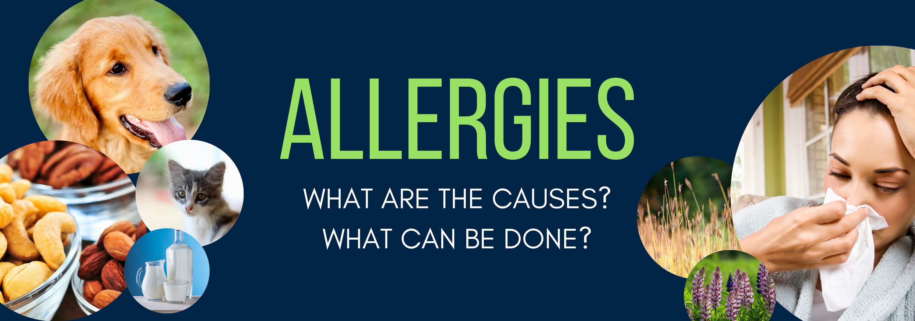 Different forms of allergens