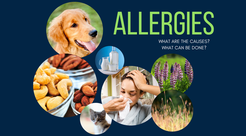 Pictures of allergens