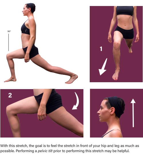 Left Psoas Stretch