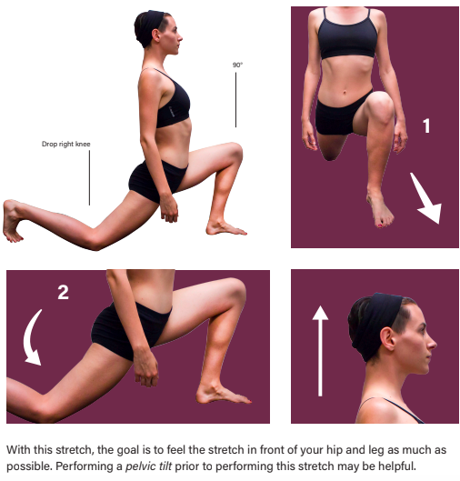 Right Kneeling Psoas Stretch