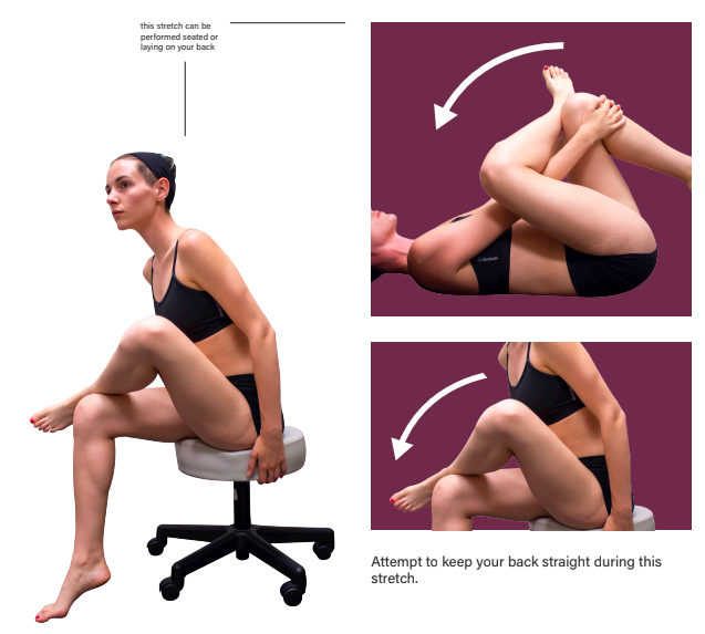 Piriformis Stretch Left