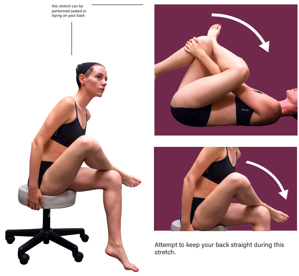 Right Piriformis Stretch