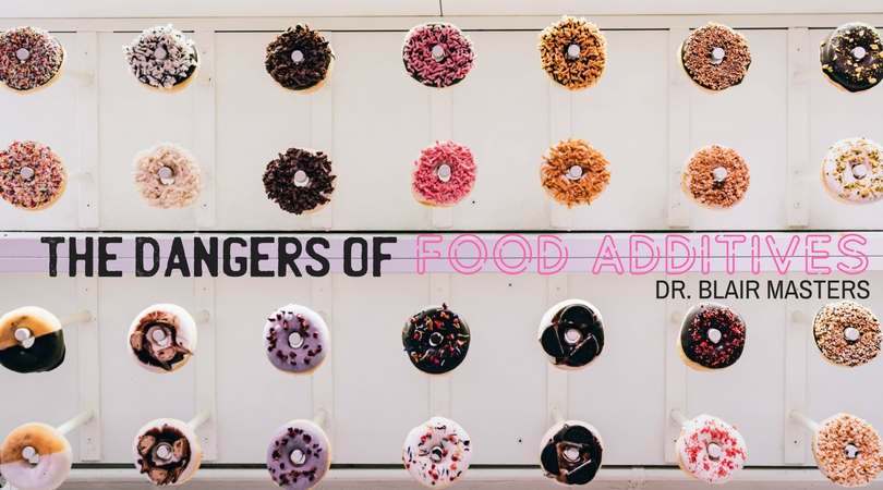 Different Types of Donuts Hanging in Lines